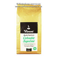 Кофе моносорт в зернах Vivent Colombie Supreme 1кг