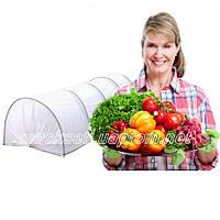 """Парник Shelter с cистемой полива """"Капля"""", плотность 42 г/м2, в основе пластиковые дуги."""