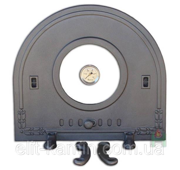Чугунные дверцы Halmat Pizza 6T (H2212) (450х500)