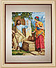 """Набор для вышивания нитками  """"Иисус и самаритянка"""""""