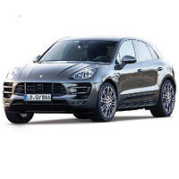 Автомодель Bburago PORSCHE MACAN (черный, 1:24) 18-21077