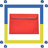 Конверты С5 (162х229) скл, красный (0+0)