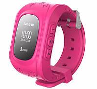 Смарт часы Детские Pink (На русском) Smart Baby с GPS и функцией телефона