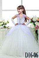 Детское нарядное платье Д16-06 - индивидуальный пошив