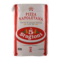 Мука для пиццы типа 00 Pizza Napoletana 5 Stagioni 25 кг