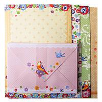 Заготовка для открыток с цветными конвертами Spring 10.5*14.8см  ZB.18220-AD