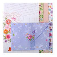 Заготовка для открыток с цветными конвертами Picturesque Charm 10.5*14.8см ZB.18223-AD