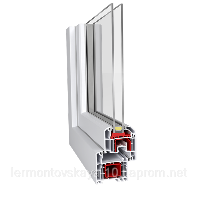 Металлопластиковое окно Aluplast IDEAL 4000