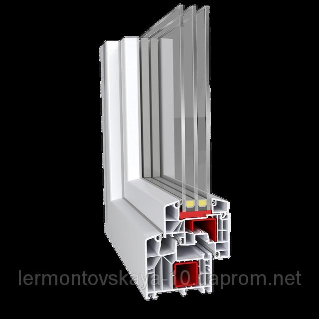 Металлопластиковое окно Aluplast IDEAL 8000