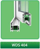 Металлопластиковое окно WDS400