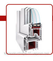 Металлопластиковое окно WDS7SERIES