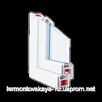 Металлопластиковое окно КВЕ70GT