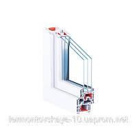Металлопластиковое окно КВЕ76MD