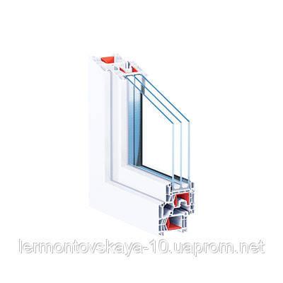 Металлопластиковое окно КВЕ76MD, фото 2