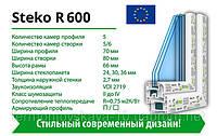 Металлопластиковое окнa STEKO R600
