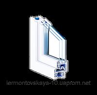 Металлопластиковое окно TROCAL76AD