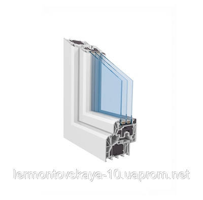 Металлопластиковое окно TROCAL88 passiv, фото 2