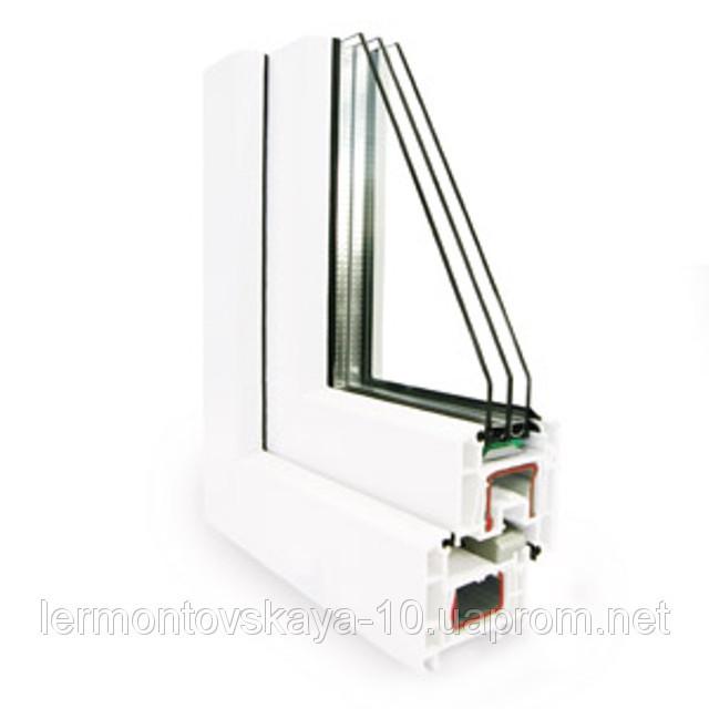 Металлопластиковое окно KOMMERLING 4 КАМЕРНЫЙ (70ММ)