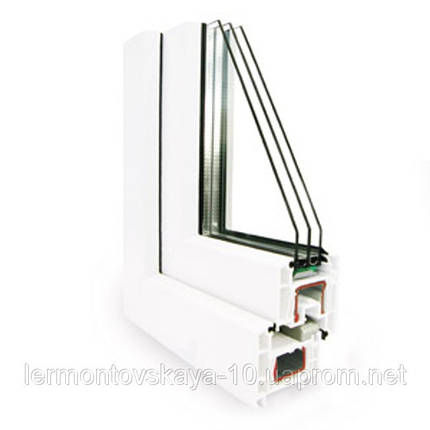 Металлопластиковое окно KOMMERLING 4 КАМЕРНЫЙ (70ММ), фото 2