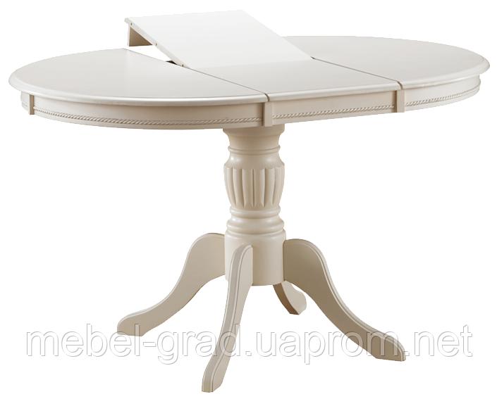 Стол обеденный (раскладной) Olivia Signal слоновая кость (ecru)