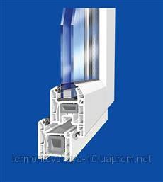 Металлопластиковое окно WINTECH 640, фото 2