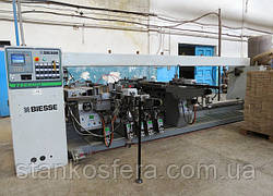 Свердлильно-присадочний верстат Biesse Techno F7/5 бу (Італія) прохідного типу 06г.