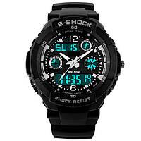 Спортивные часы Casio S-Shock black-gray