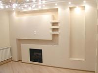Ремонт отделка стен гипсокартоном