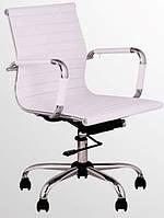 Кресло Slim LB (XH-632В White) мех., Tilt (Белый)