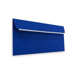 Конверты Е65 (DL) (110х220) скл, синий/голубой (0+0), фото 2