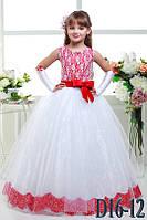 Детское нарядное платье Д16-12 - индивидуальный пошив