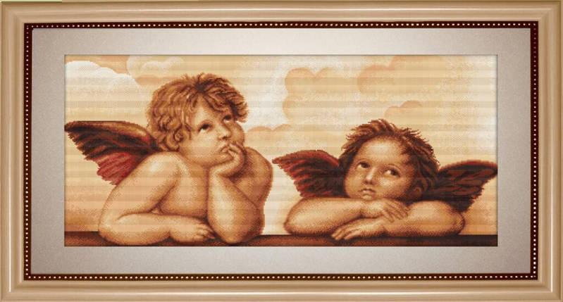 """Набор для вышивания нитками  """"Ангелочки"""", фото 2"""