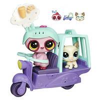 Городской транспорт Птички с собачкой (в ассорт.) (Littlest Pet Shop)