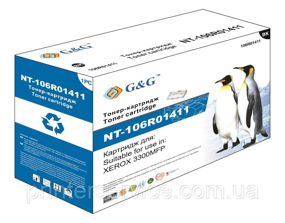 Xerox 3300 картридж совместимый, G&G-106R01411 black