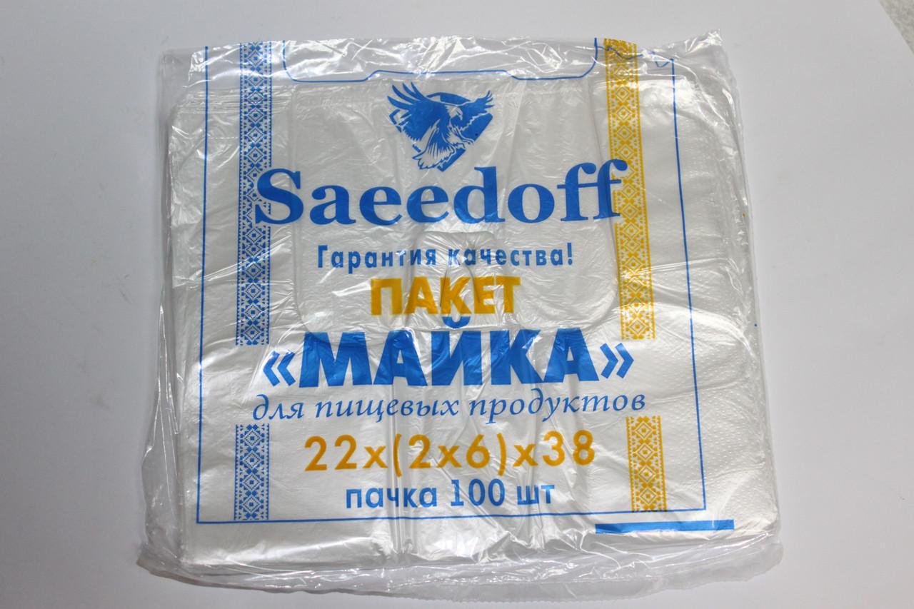 Пакет Майка 38 (100шт.)