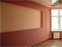 Двухуровневые стены из гипсокартона