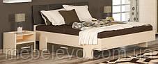 Кровать Кантри 160 923х2117х1716мм Дуб молочный   Мебель-Сервис, фото 2