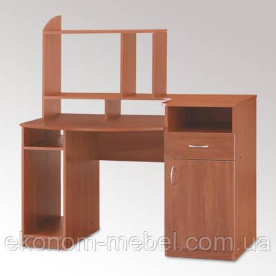 Стол для компьютера Комфорт-2 с тумбой и надстройкой