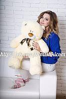 Мишка Тедди 80 см, плюшевые медведи. мягкая игрушка мишка. мягкие игрушки украина Мех искусственный, Животное, абрикосовый