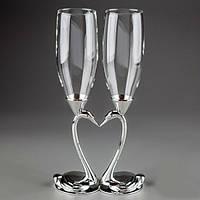 Свадебные бокалы Лебеди