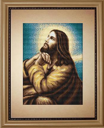 """Набор для вышивания нитками  """"Мольба Иисуса"""", фото 2"""