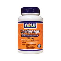 Кордицепс (Cordyceps) 750 мг, 90 капсул иммуностимулятор с противоопухолевой защитой