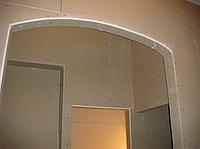 Стены из гипсокартона в доме из бруса