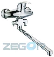 Смеситель для ванны Zegor FEA.Ф40 картриджный