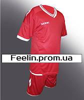 Футбольная форма Derbi детская\подростковая (Дерби красная)