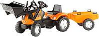 Трактор Педальный с Прицепом Renault Falk 993M