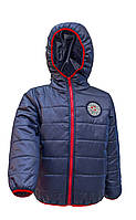 Куртка подростковая демисезонная для мальчика (Размеры: 122, 128, 134, 140)