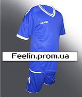 Футбольная форма Derbi детская\подростковая (Дерби Синяя)