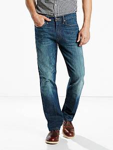 Джинсы LEVIS  514™ Slim Straight Jeans - Midnight Blue NEW