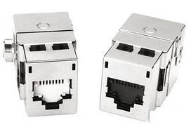 Модуль Molex Data Gate+ 1xRJ45 (WE8W)STP 360DEG 568A/B PowerCat Black